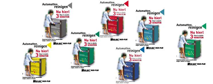 Wash-Mat Plakate