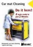 Automatten Reinigung, englisch