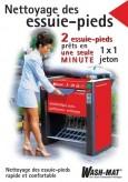 Nettoyage des essiue-pieds poster, francais