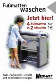 Autofußmatten reinigen, deutsch