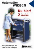 Automatten wassen, niederländisch