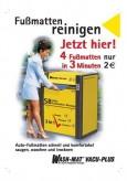 Fußmatten reinigen, deutsch